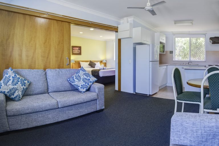 hotel accommodation with complete amenities