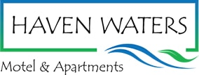 haven waters motel & apartments logo