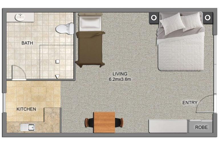 Twin Room 15-10