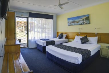 twin bedroom is perfect accommodation for small family